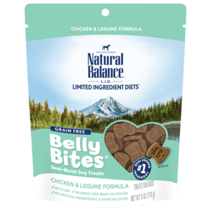 Natural Balance Belly Bites Chicken & Lagume Formula