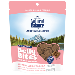 Natural Balance Belly Bites Salmon & Legume Formula