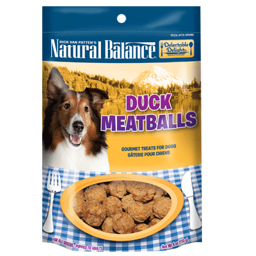 Natural Balance Delectable Delights Duck Meatballs