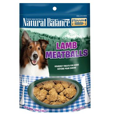 Natural Balance Delectable Delights Lamb Meatballs