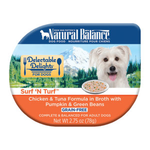 Natural Balance Delectable Delights Surf 'N Turf