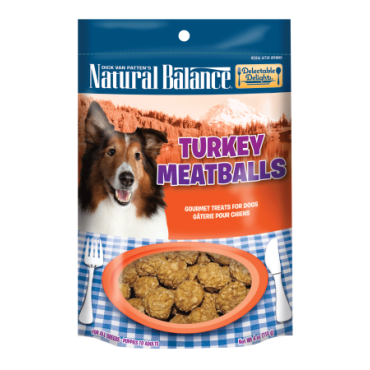 Natural Balance Delectable Delights Turkey Meatballs