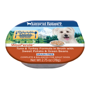 Natural Balance Delectable Delights Woof'erole