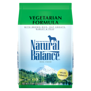 Natural Balance Vegan Dog Food Vegetarian Formula