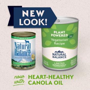 Natural Balance Vegan Dog Food Vegetarian Formula