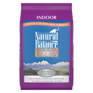 Natural Balance Indoor Ultra Chicken & Salmon Meal Formula