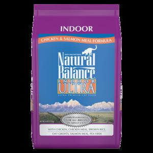 Natural Balance Indoor Ultra Indoor Formula - Chicken Meal & Salmon Meal