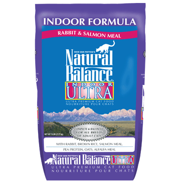 Natural Balance Indoor Ultra Indoor Formula - Rabbit & Salmon Meal