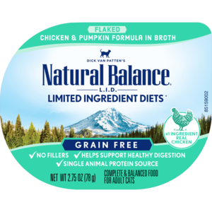 Natural Balance Limited Ingredient Diets Chicken & Pumpkin Formula In Broth