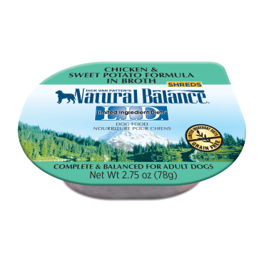 Natural Balance Limited Ingredient Diets Chicken & Sweet Potato Formula In Broth