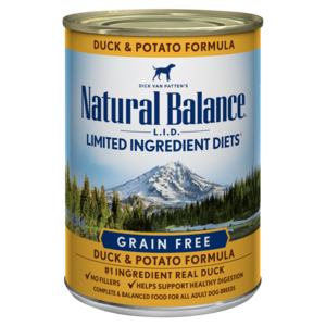 Natural Balance Limited Ingredient Diets Duck & Potato Formula