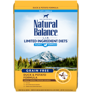 Natural Balance Limited Ingredient Diets Potato & Duck Formula For Puppies