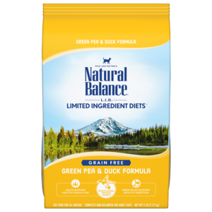 Natural Balance Limited Ingredient Diets Green Pea & Duck Formula