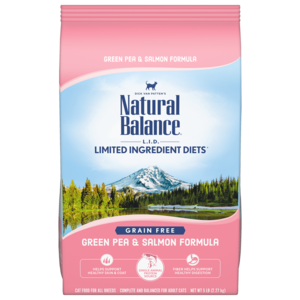 Natural Balance Limited Ingredient Diets Green Pea & Salmon Formula