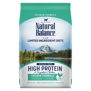 Natural Balance Limited Ingredient Diets High Protein