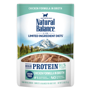 Natural Balance Limited Ingredient Diets High Protein Chicken Formula In Broth For Cats