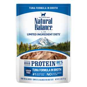 Natural Balance Limited Ingredient Diets High Protein Tuna Formula In Broth For Cats