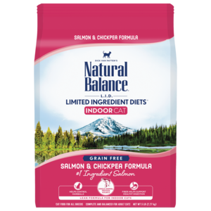 Natural Balance Limited Ingredient Diets Indoor Salmon & Chickpea Formula