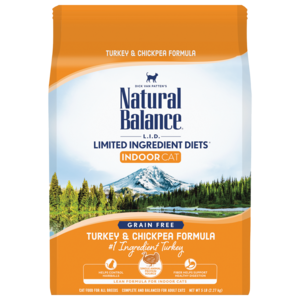 Natural Balance Limited Ingredient Diets Indoor Turkey & Chickpea Formula