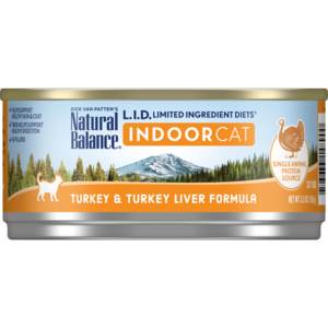 Natural Balance Limited Ingredient Diets Indoor Turkey & Turkey Liver Formula