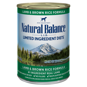 Natural Balance Limited Ingredient Diets Lamb & Brown Rice Formula