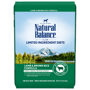 Natural Balance Limited Ingredient Diets Lamb Meal & Brown Rice Formula