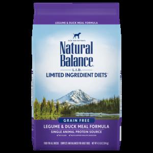 Natural Balance Limited Ingredient Diets Legume & Duck Meal Formula