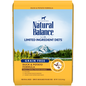 Natural Balance Limited Ingredient Diets Potato & Duck Formula