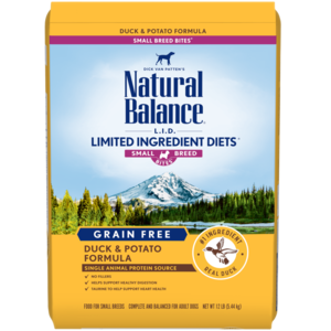 Natural Balance Limited Ingredient Diets Potato & Duck Formula - Small Breed Bites