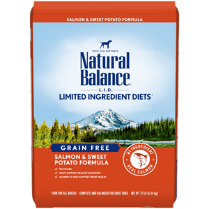 Natural Balance Limited Ingredient Diets Sweet Potato & Fish Formula