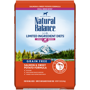 Natural Balance Limited Ingredient Diets Sweet Potato & Fish Formula - Small Breed Bites