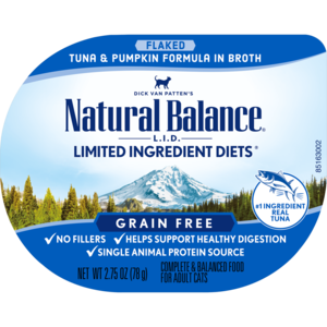 Natural Balance Limited Ingredient Diets Tuna & Pumpkin Formula In Broth