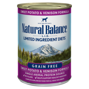 Natural Balance Limited Ingredient Diets Sweet Potato & Venison Formula