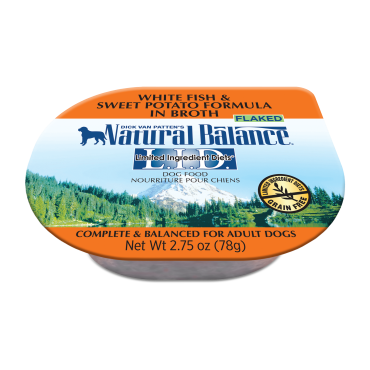 Natural Balance Limited Ingredient Diets White Fish & Sweet Potato Formula In Broth