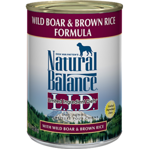 Natural Balance Limited Ingredient Diets Wild Boar & Brown Rice Formula