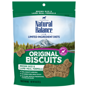 Natural Balance Limited Ingredient Treats Brown Rice & Lamb Meal Formula Treats - Small Breed