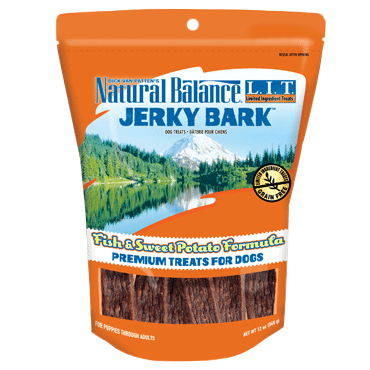 Natural Balance Limited Ingredient Treats Jerky Bark - Fish & Sweet Potato Formula