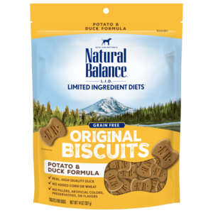 Natural Balance Limited Ingredient Treats Potato & Duck Formula Treats - Regular Size