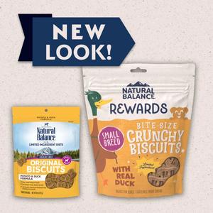 Natural Balance Limited Ingredient Treats Potato & Duck Formula Treats - Small Breed