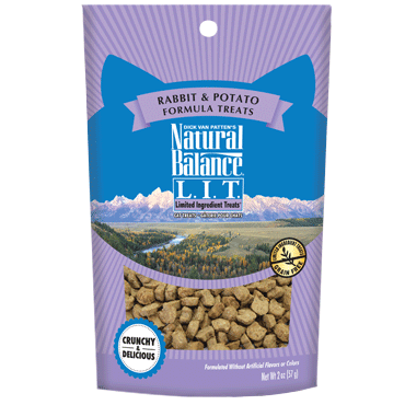 Natural Balance Limited Ingredient Treats Rabbit & Potato Formula Treats