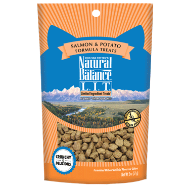Natural Balance Limited Ingredient Treats Salmon & Potato Formula Treats