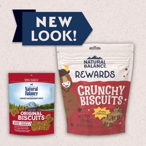 Natural Balance Limited Ingredient Treats Sweet Potato & Bison Formula Treats - Regular Size