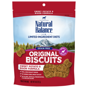 Natural Balance Limited Ingredient Treats Sweet Potato & Bison Formula Treats - Small Breed