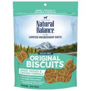 Natural Balance Limited Ingredient Treats Sweet Potato & Chicken Formula Treats - Regular Size