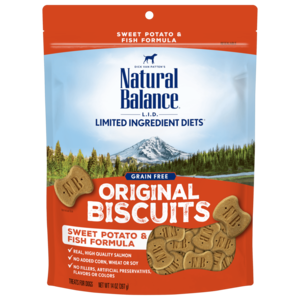Natural Balance Limited Ingredient Treats Sweet Potato & Fish Formula Treats - Regular Size