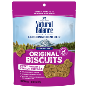 Natural Balance Limited Ingredient Treats Sweet Potato & Venison Formula Treats - Small Breed