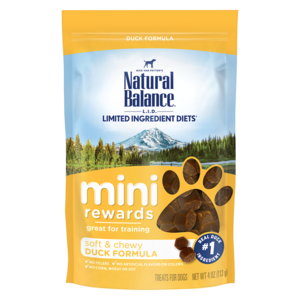 Natural Balance Mini-Rewards Duck Formula