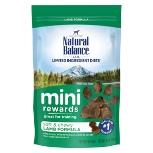 Natural Balance Mini-Rewards Lamb Formula