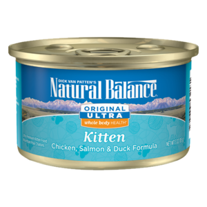 Natural Balance Original Ultra Kitten Formula - Chicken, Salmon & Duck