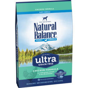 Natural Balance Original Ultra Puppy - Chicken, Brown Rice, Duck Meal Formula
